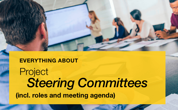 What is a Project Steering Committee? Including Roles and Meeting Agenda